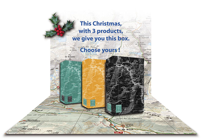This Christmas, with 3 products, we give you this box